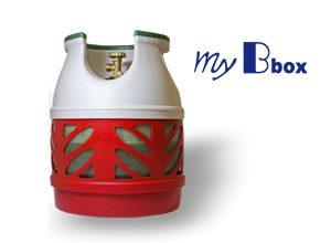 bombola in vetroresina con propano 7,5kg MyBbox - NON SPEDIBILE