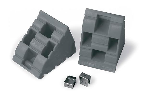 cunei optional chock level grey