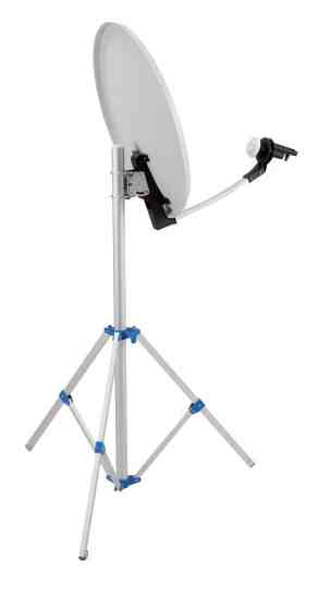 supporto tripiede per antenna transat