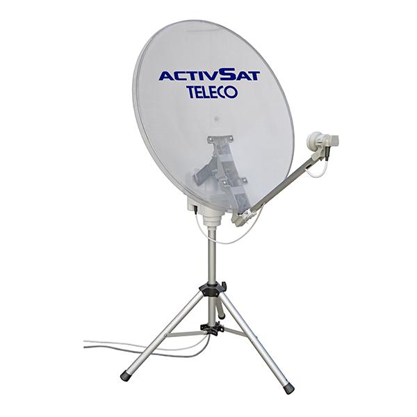 antenna satellitare portatile activsat teleco 65