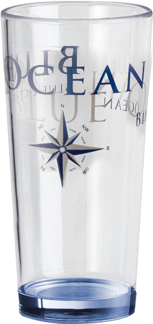 set 2 bicchieri festa ocean blue