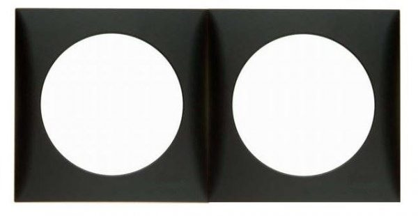 cornice doppia berker bmac2/grigio