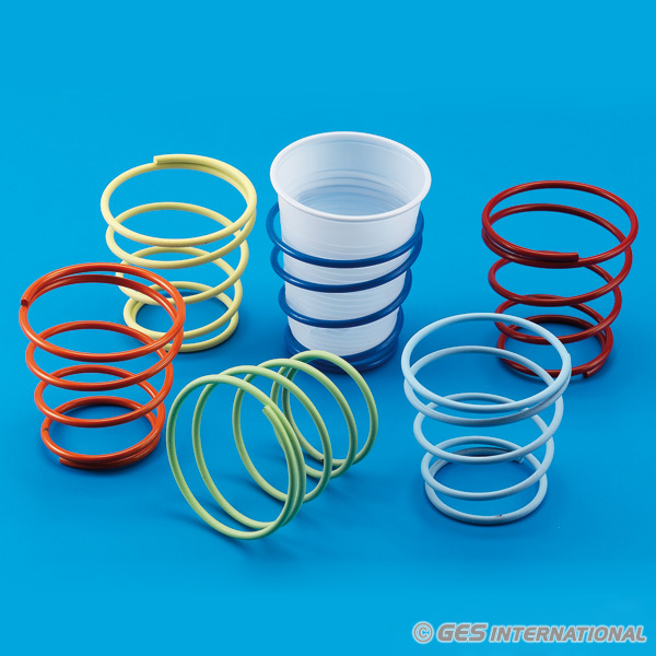 portabicchieri a spirale