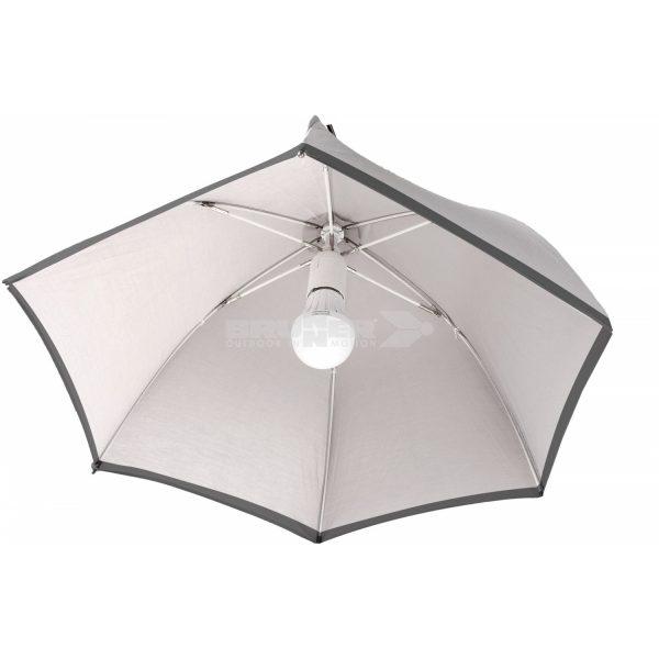 lampadario sixray ad ombrello blu